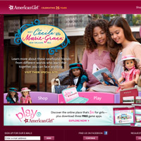 Free games, activities and fun at American Girl