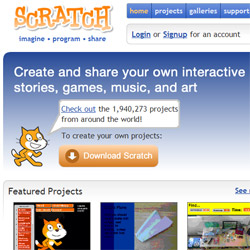 Free programming software for kids- create your own story!