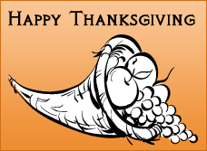 Free Thanksgiving Coloring Sheet and Craft