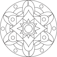 Free Pattern, Illustration and Mandala Coloring Sheets