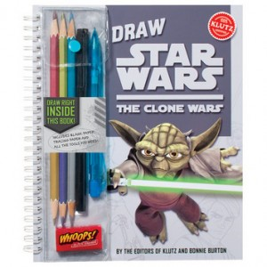 Draw Star Wars: The Clone Wars Book Giveaway