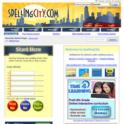Make Spelling Practice Fun With Spelling City