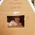 Make A Cardboard Box Winter Play Castle