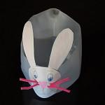 Plastic Milk Jug Easter Bunny Basket