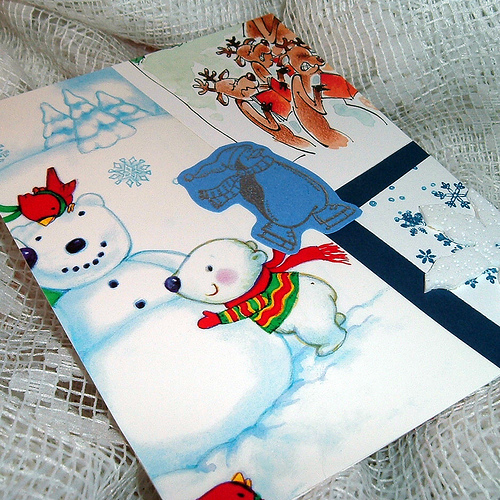 Christmas Card Collage Crafts