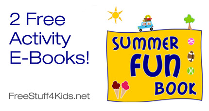 Free Activity E-Books for Kids