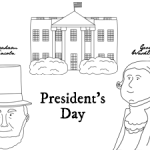 Free President's Day Coloring Sheet