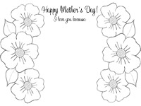 Mother's Day Printable: I Love You Because