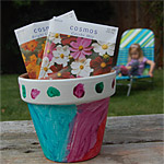 Mother's Day Painted Flower Pot
