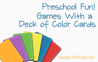 Playing Games With Color Cards
