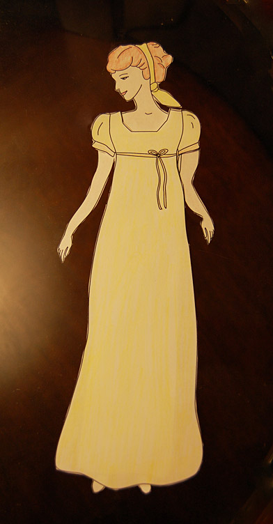 Regency Era Paper Dolls